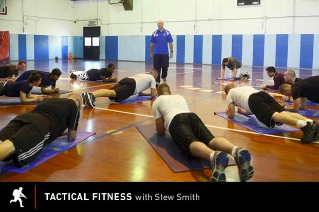 Tactical fitness: core training.