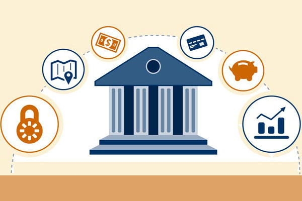 Choosing a Financial Institution illustration