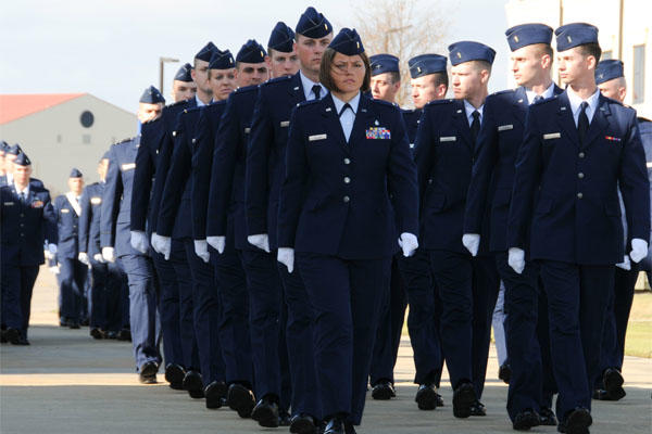 Air Force Officer Training graduates