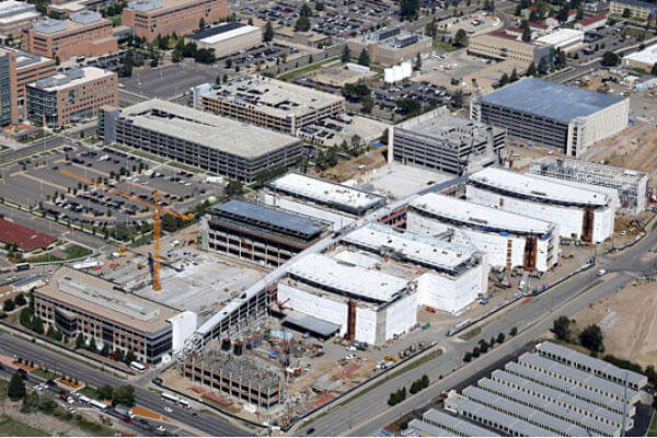 Construction continues at the Replacement Medical Center at VA Eastern Colorado Health Care System, Denver, Colo. Department of Veterans Affairs