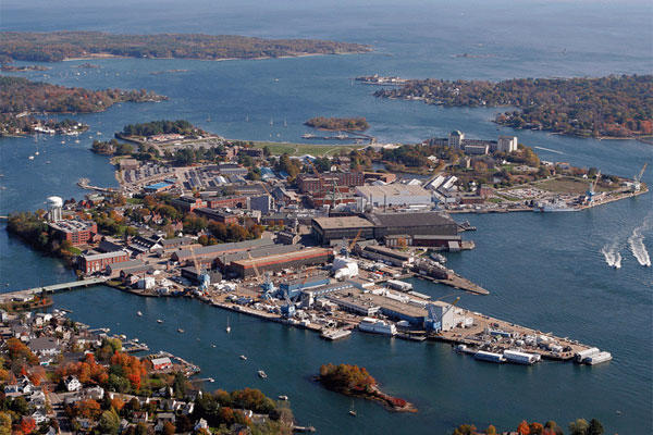 Portsmouth Naval Shipyard (U.S. Navy photo)