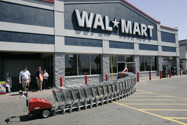 Walmart building (AP file photo)