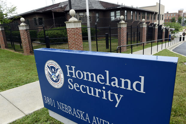 In this June 5, 2015, file photo, the Homeland Security Department headquarters in northwest Washington. Susan Walsh/AP