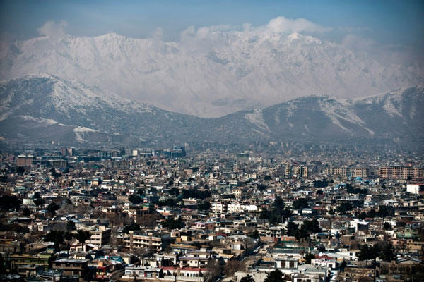 The City of Kabul (Dmitry Kostyukov/AFP/File)