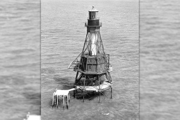 American Shoal Lighthouse (Photo: U.S. Coast Guard)