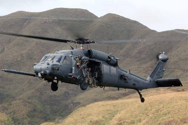 Air Force HH60 Pave Hawk helicopter (Photo: Air Force)