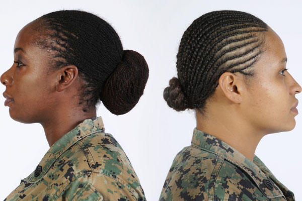 Corps Commandant Gen. Robert B. Neller approved lock and twist hairstyles in uniform, Dec. 14, 2015. The results of Uniform Board 214 and 215 were released as part of Marine Administrative Message 622/15. (Marine Corps photo)