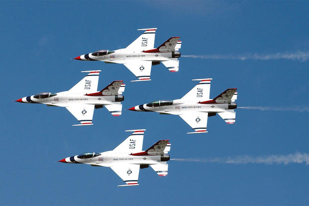 Air Force Thunderbirds (U.S. Air Force photo)