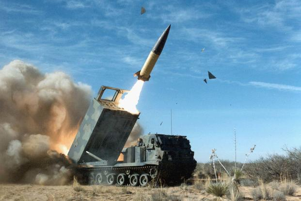 Army Tactical Missile System (ATACMS) (Army Photo via Wikipedia)