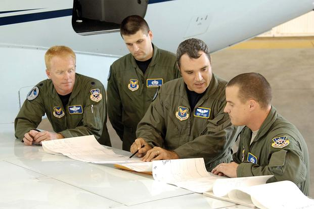 air force flight standards agency aircrews fly approaches all over the world to certify that runways