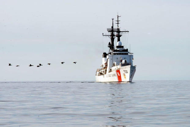 The Honolulu-based Coast Guard Cutter Sherman (WHEC 720) returned home Sept. 20, 2017, after a 94-day, 16,000 mile patrol in the Arctic Ocean and Bering Sea. (U.S. Coast Guard photo/USCGC Sherman)