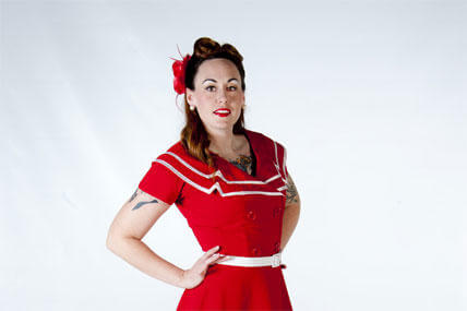 56f7441bbcf Airman Becomes  Pin Up  Girl for Charity