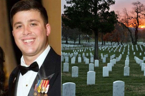 Louisiana National Guardsman Staff Sgt. Thomas Florich was laid to rest at Arlington National Cemetery after a lengthy fight with the Army. (Louisiana National Guard, AP)