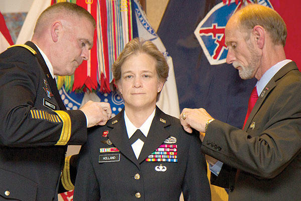 Brigadier General Diana Holland