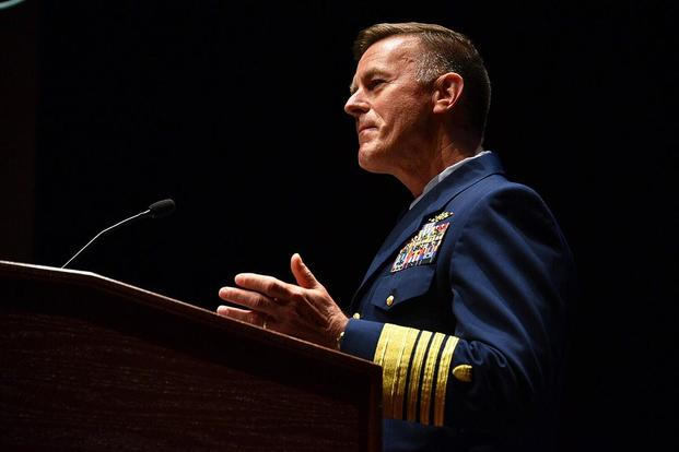 Coast Guard Commandant Adm. Paul Zukunft. (U.S. Coast Guard/PO2 Patrick Kelley)