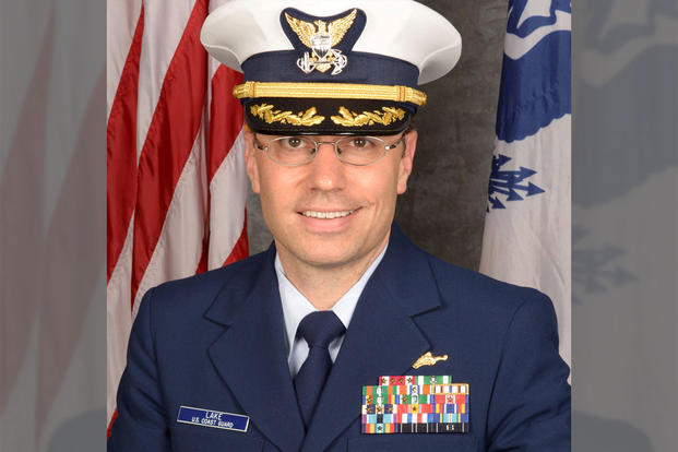 U.S. Coast Guard Captain Matthew Lake (Photo: U.S. Coast Guard)