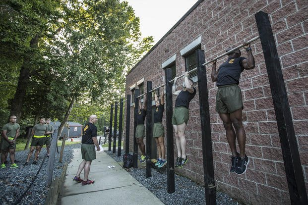 USMC Force Fitness Instructor Course (Sgt. Melissa Marnell, US Marine Corps Combat Camera Photos)