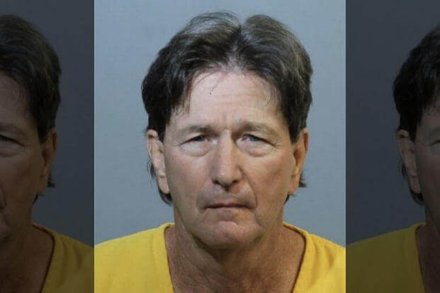 Jeffrey Michels, 64, was arrested in Florida last week on charges of desertion after the Airman disappeared from an Air Force base 40 years ago.  (Seminole County Sheriff's Office)