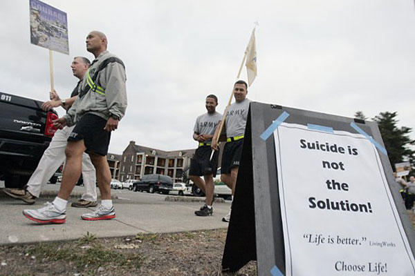 Army suicide prevention