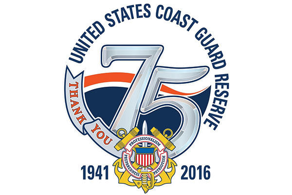 The Coast Guard Reserve will celebrate 75 years of serving the United States Feb. 19, 2016. (U.S. Coast Guard/PO2 Pamela Boehland)