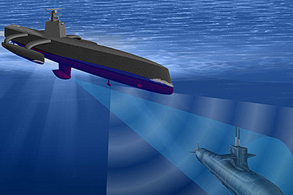 The Anti-Submarine Warfare Continuous Trail Unmanned Vessel (ACTUV) is developing an unmanned vessel optimized to robustly track quiet diesel electric submarines. Defense Advanced Research Projects Agency