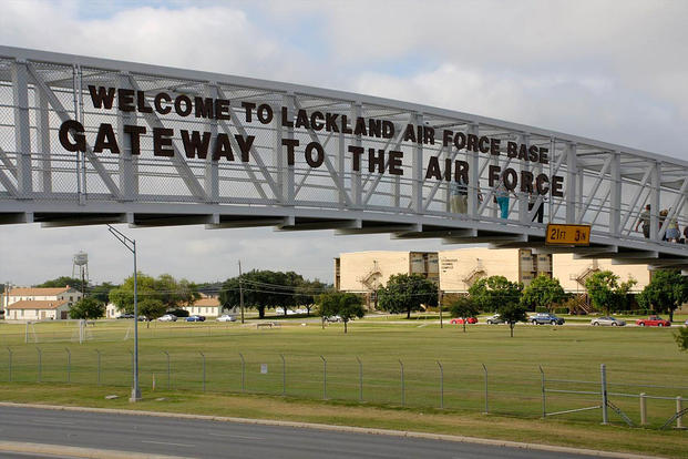 Lackland Air Force Base is located in San Antonio, Texas. DoD photo