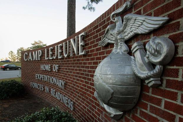 Camp Lejeune sign