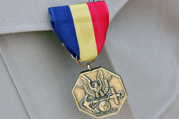 Navy and Marine Corps Medal (U.S. Marine Corps photo)