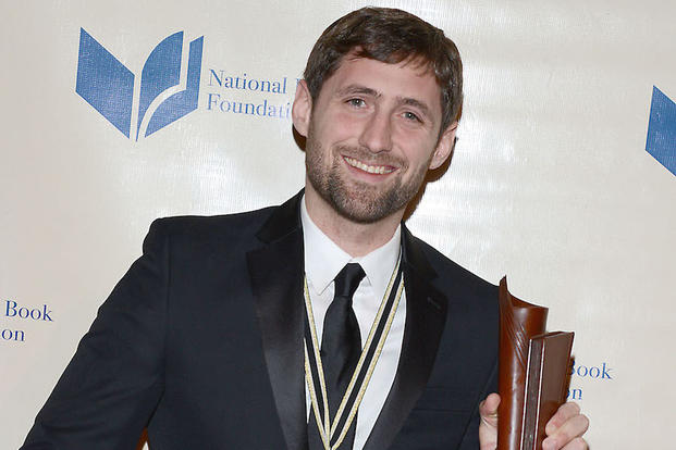 Phil Klay, winner of the National Book Award for fiction, attends the 65th Annual National Book Awards on Nov. 19, 2014 at Cipriani Wall Street in New York City Wednesday Nov. 19, 2014.