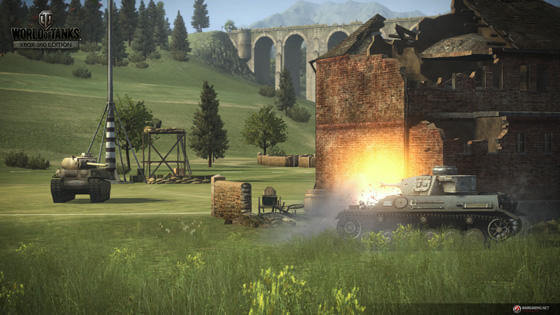 WoT Xbox screenshot holding team point