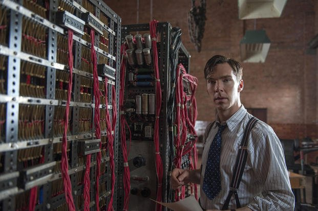 "Benedict Cumberbatch plays Alan Turing in ""The Imitation Game"""