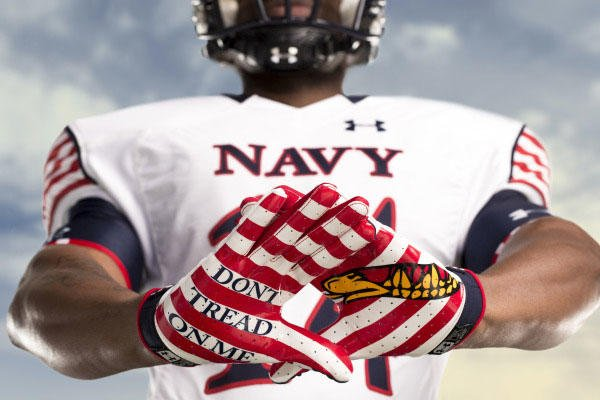 1e50198f6 Academies Unveil New Uniforms Ahead of 115th Army-Navy Game ...