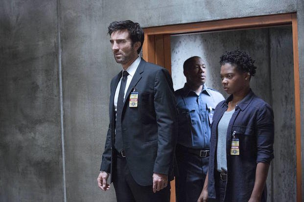 "This image provided by Sony Pictures Television shows Sharlto Copley, left, and Susan Heyward in a scene from ""Powers."" The series' 10-episode first season is the latest blossoming of scripted TV fare from unexpected sources."