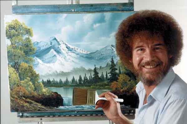 Image result for bob ross