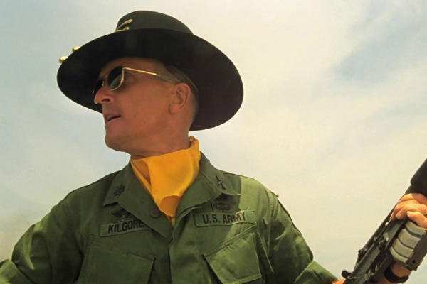 Robert Duvall as Lt. Col. Kilgore