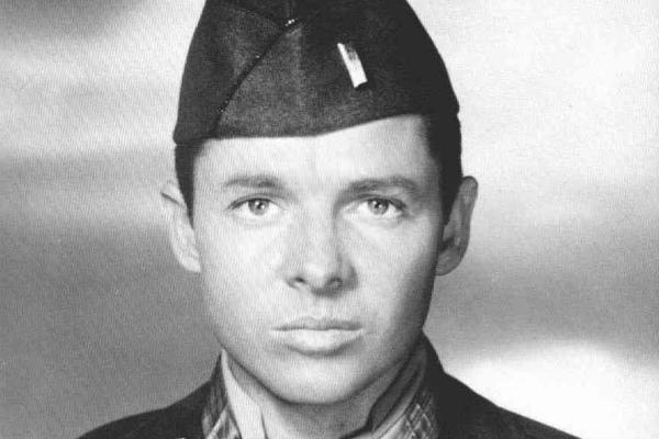 World War II veteran Audie Murphy