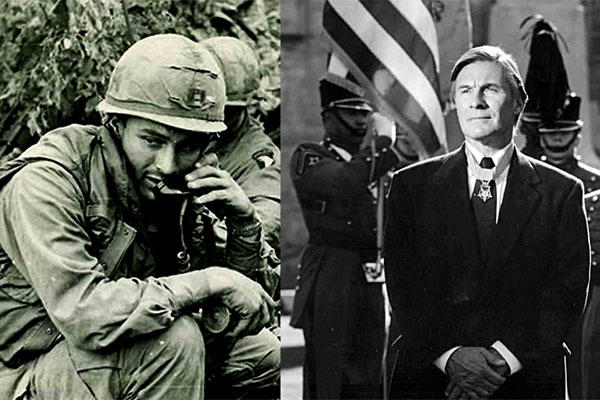 Medal of Honor recipient Paul Bucha was hailed as a hero after he made the enemy believe the 187th Infantry Regiment was much bigger than it really was.