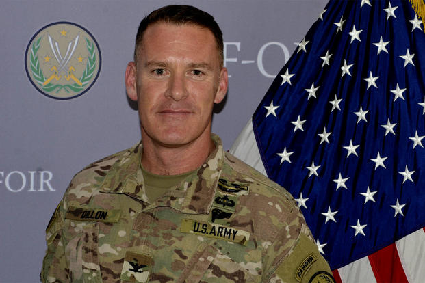 "Army Col. Ryan Dillon, a U.S. coalition spokesman, said at a Sept. 7 press conference from Baghdad that the coalition was ""able to exploit and take advantage"" of an ISIS convoy traveling across Syria. (DoD photo)"