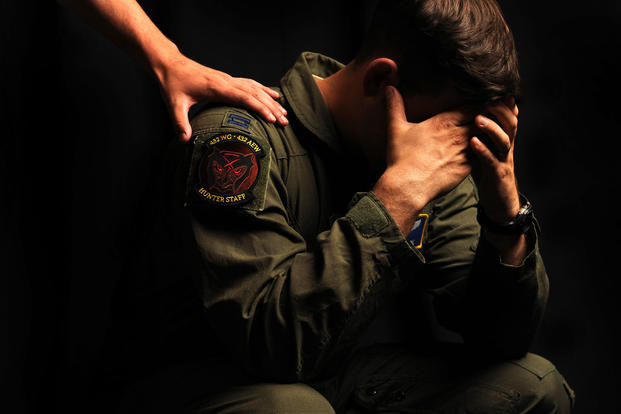 PTSD and marriage. Tech. Sgt. Nadine Barclay/Air Force