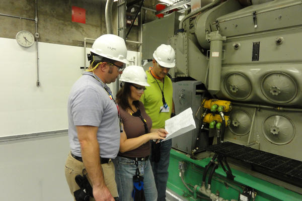 Nuclear equipment operation technicians