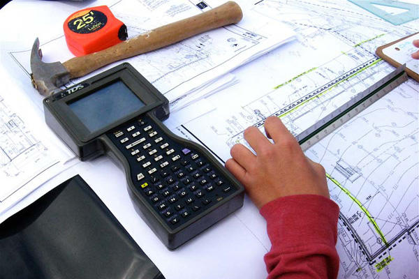 Construction planning tools.
