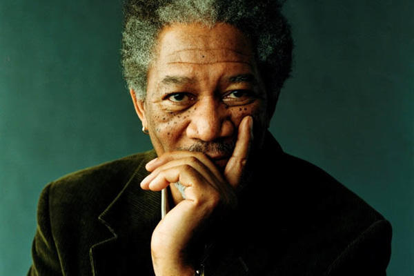 Morgan Freeman headshot.