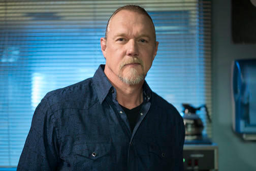 THE NIGHT SHIFT -- Moving On Episode 212 -- Pictured: Trace Adkins as Smalls -- (Photo by: Lewis Jacobs/NBC)