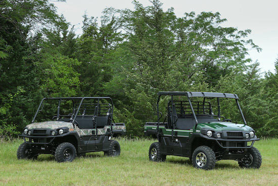 Off Road with the Kawasaki Mule PRO-FXT | Military com