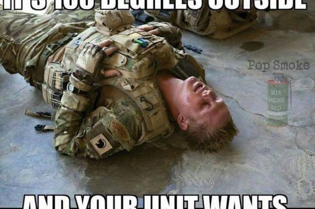 PS funny army memes do dumb shit?itok=S6A_GdBD the 13 funniest military memes of the week 7 20 16 military com