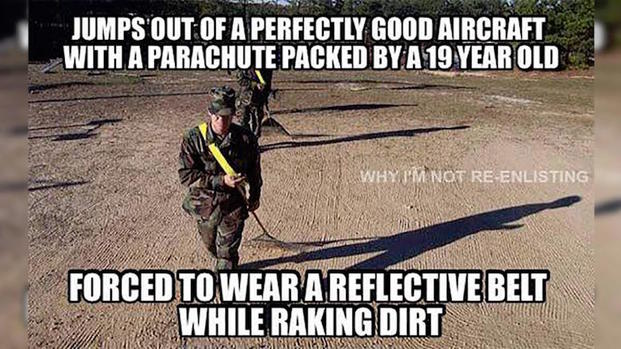 FEAT meme WINR DLN funny Army memes airborne raking 1024x536?itok=r6uEx78C the 13 funniest military memes of the week 5 10 17 military com