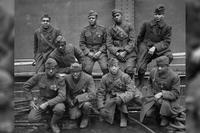 Originally known as the 15th New York, an African-American regiment in a segregated Army and National Guard, the men of the 369th Infantry Regiment distinguished themselves in combat in World War I, fighting with the French Army. (National Archives)