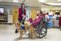 Honor the Dog at the VA Medical Center in Muskogee, Oklahoma.