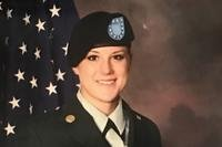 Sgt. Christina Schoenecker died Feb. 19 in a non-combat incident in Baghdad, Army officials said. She was deployed in support of Operation Inherent Resolve.