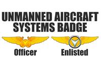 The Marines Corps' new Drone Operator badge design. (Image: Marine Corps)
